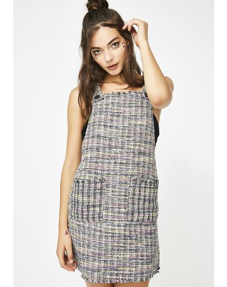 Awestruck Tweed Mini Dress