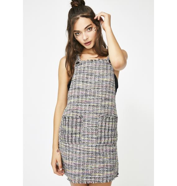 Awestruck Tweed Mini Dress