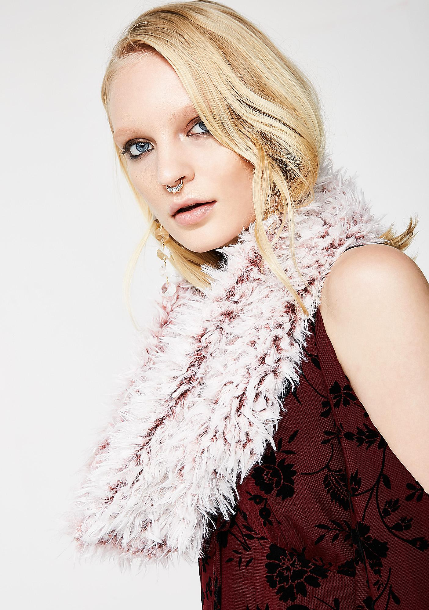 Fluff Me Infinity Scarf