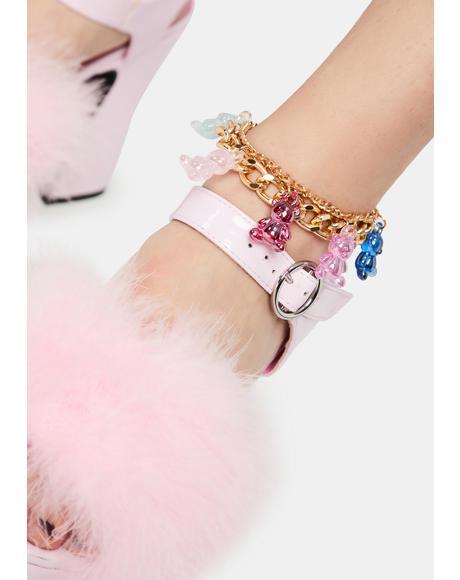 Ooey Gooey Cutie Charm Bracelet