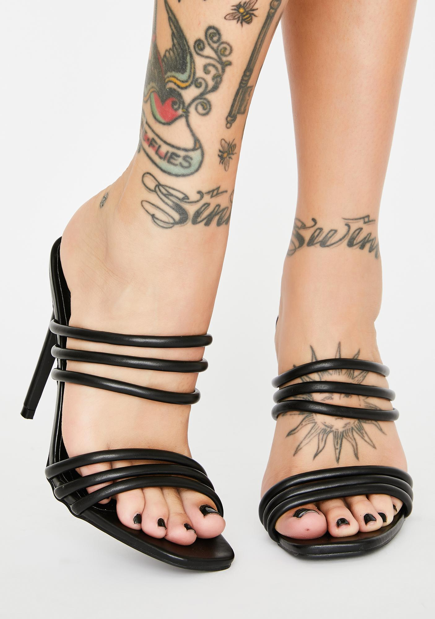 Best U Ever Had Strappy Heels