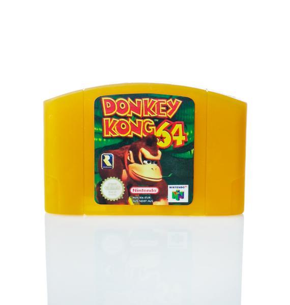 Donkey Kong Nintendo 64 Cartridge Soap