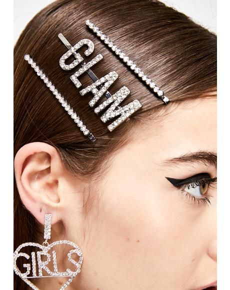 Legendary Glam Hair Clips