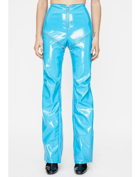 Blue Isla Pants