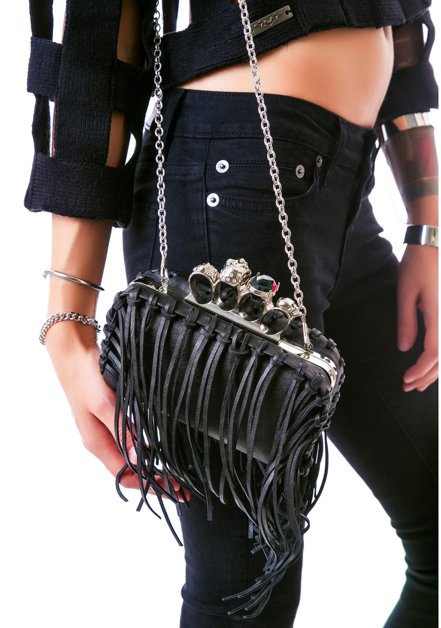 Fringed With Benefits Clutch