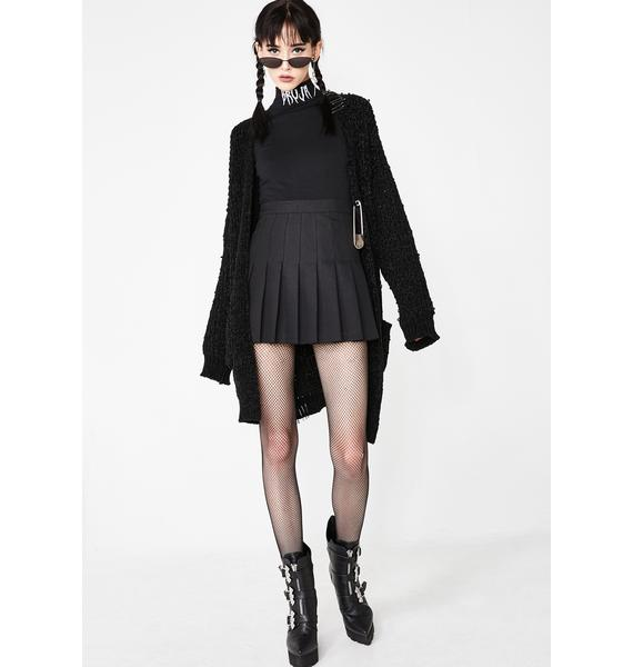 Dolls Kill Supreme Bruja Mock Neck Top