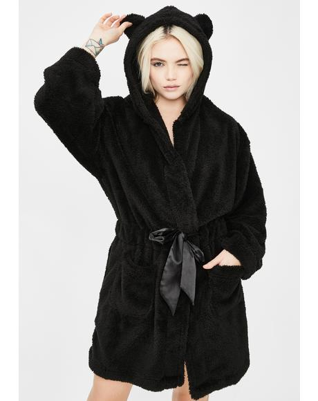 Onyx Cozy Cutie Teddy Robe