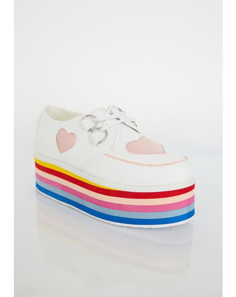 Heart Rainbow Platform Creepers