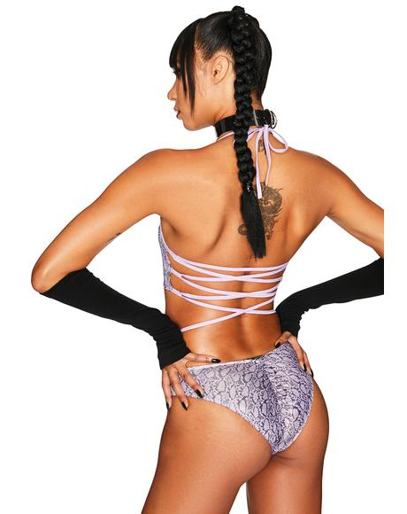 Amethyst Hypnotic Hype Ruched Bottoms