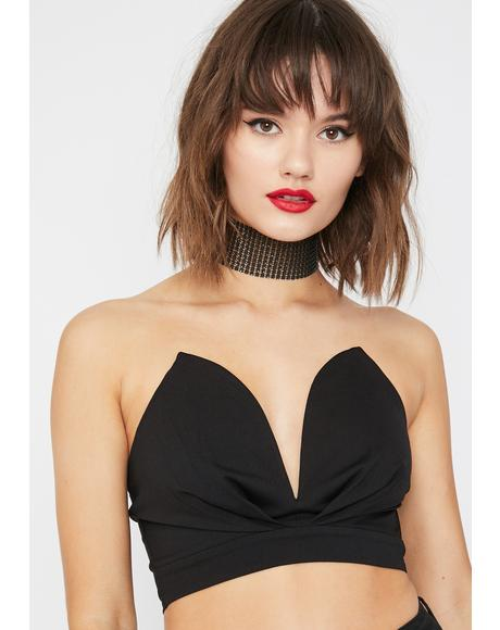 Drop Dead Goddess Crop Top