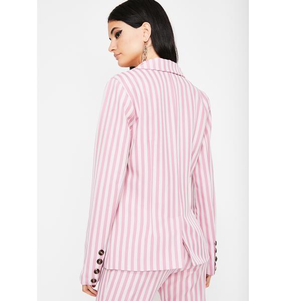 Baby Diva Edition Stripe Blazer