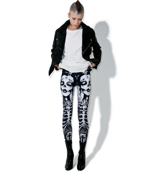 Too Fast Release The Bats Lexy Leggings