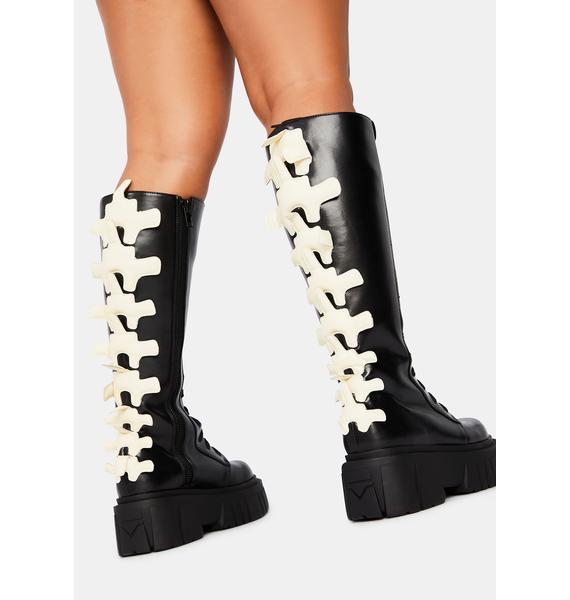 Trickz & Treatz Back Bone Spine Boots