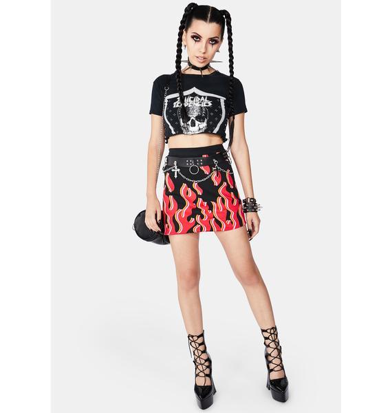 Black Friday Smokin Mini Skirt