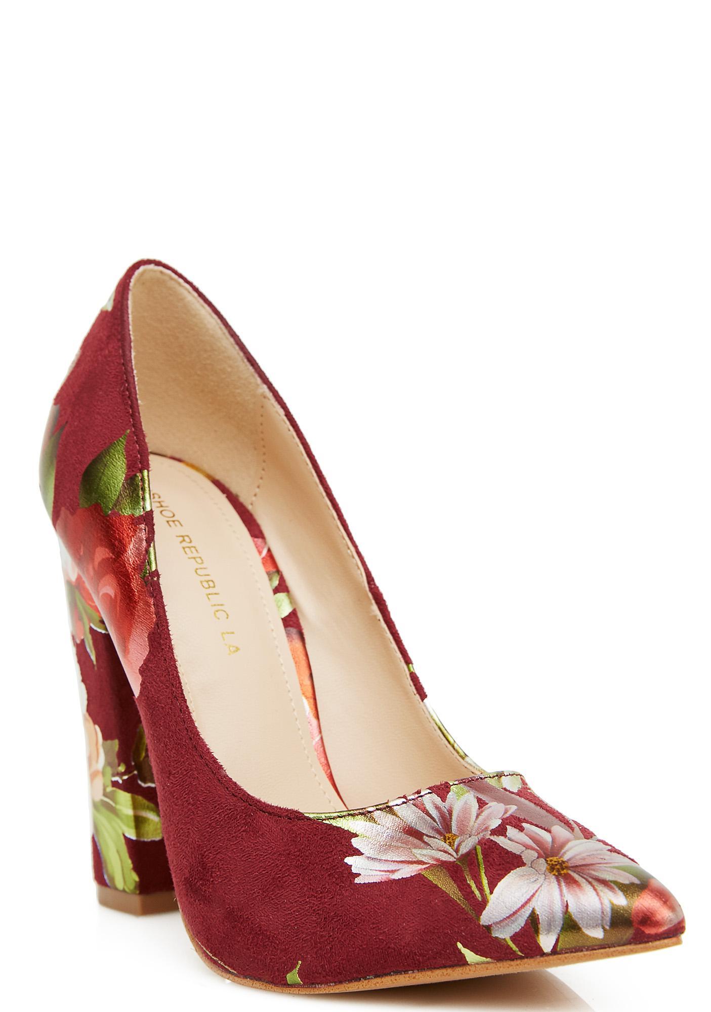 Romance Me Floral Heels