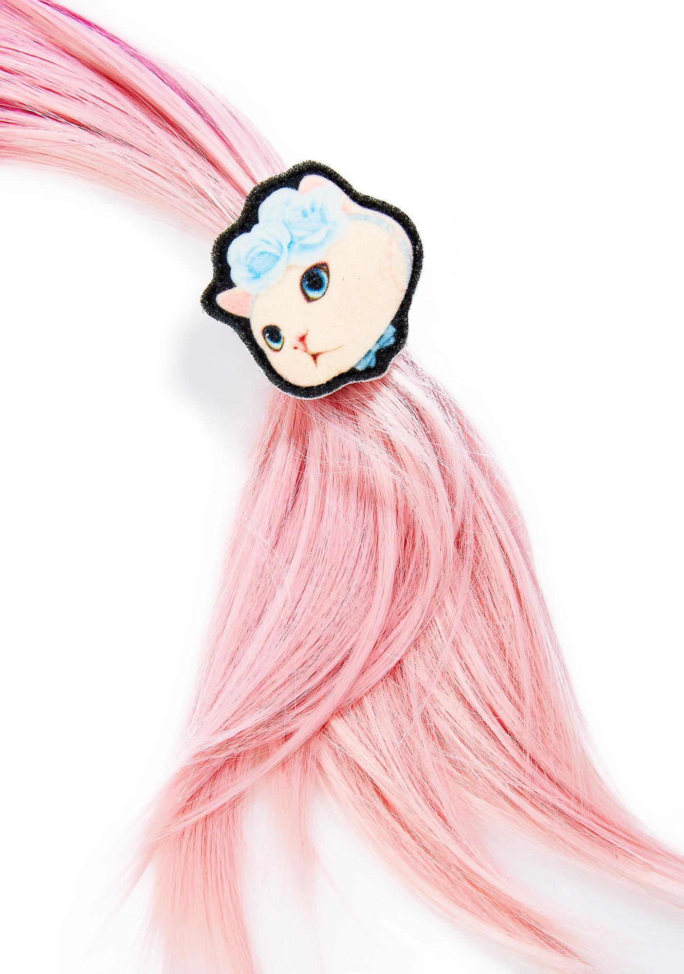 Jetoy Blue Rose Hair Tie