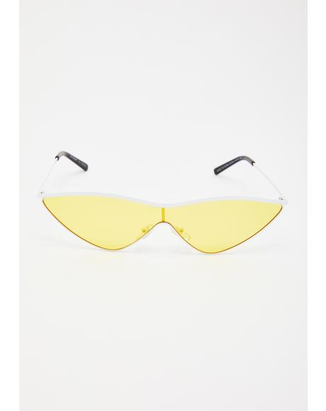 Shock Power Cat Eye Sunglasses