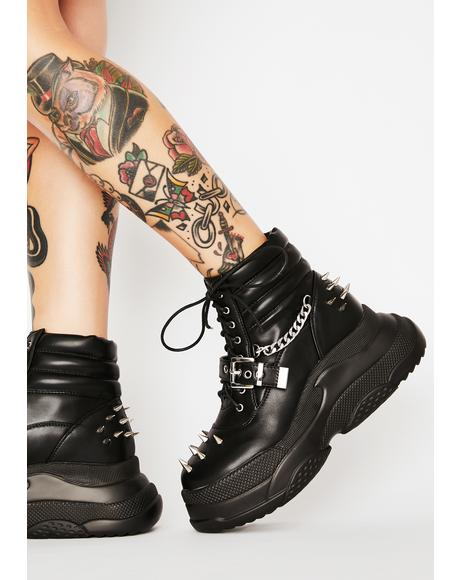 Screamin' Loud Platform Boots