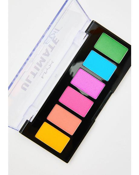 Brights Ultimate Edit Petite Shadow Palette