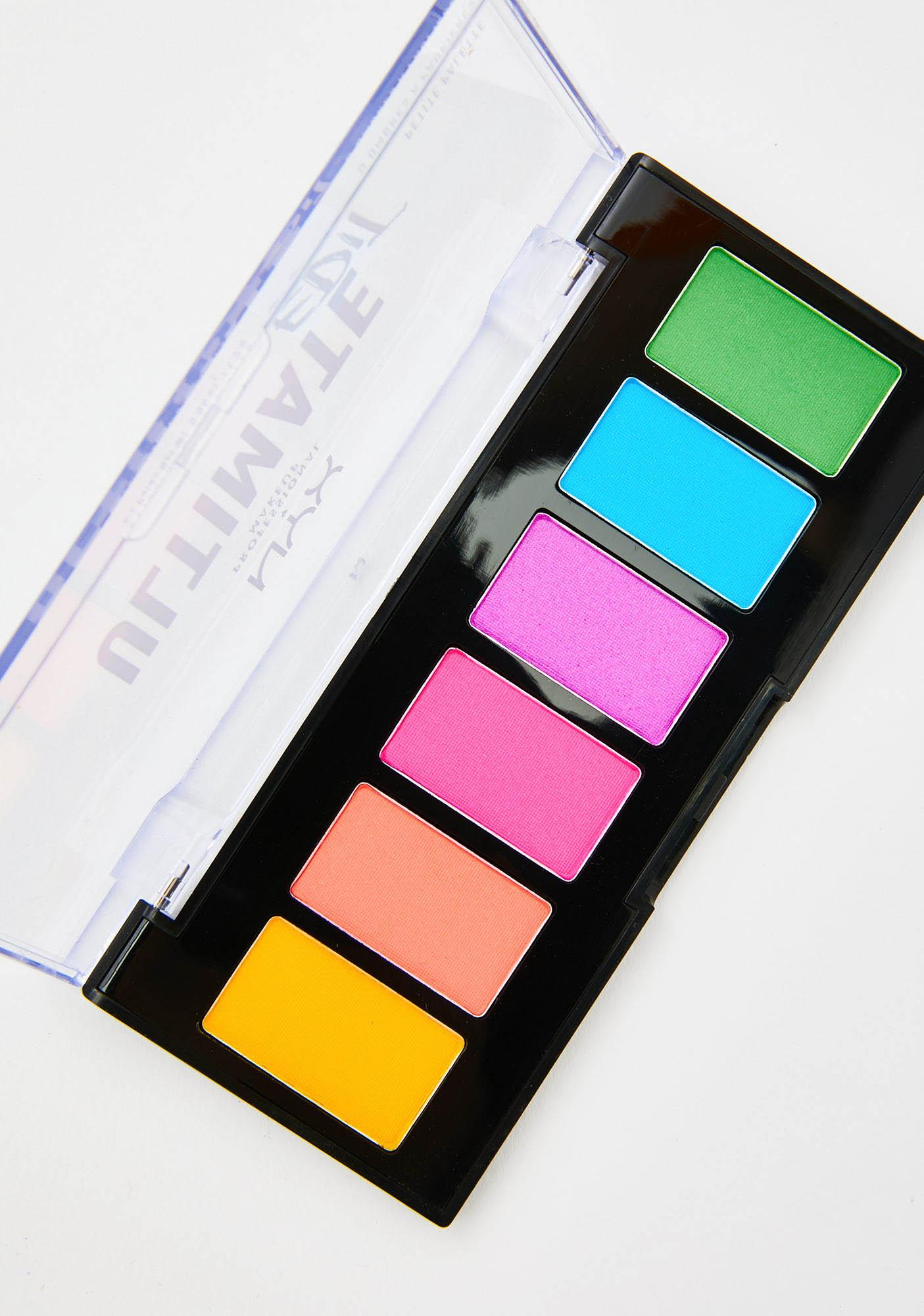 NYX Professional Makeup Brights Ultimate Edit Petite Shadow Palette