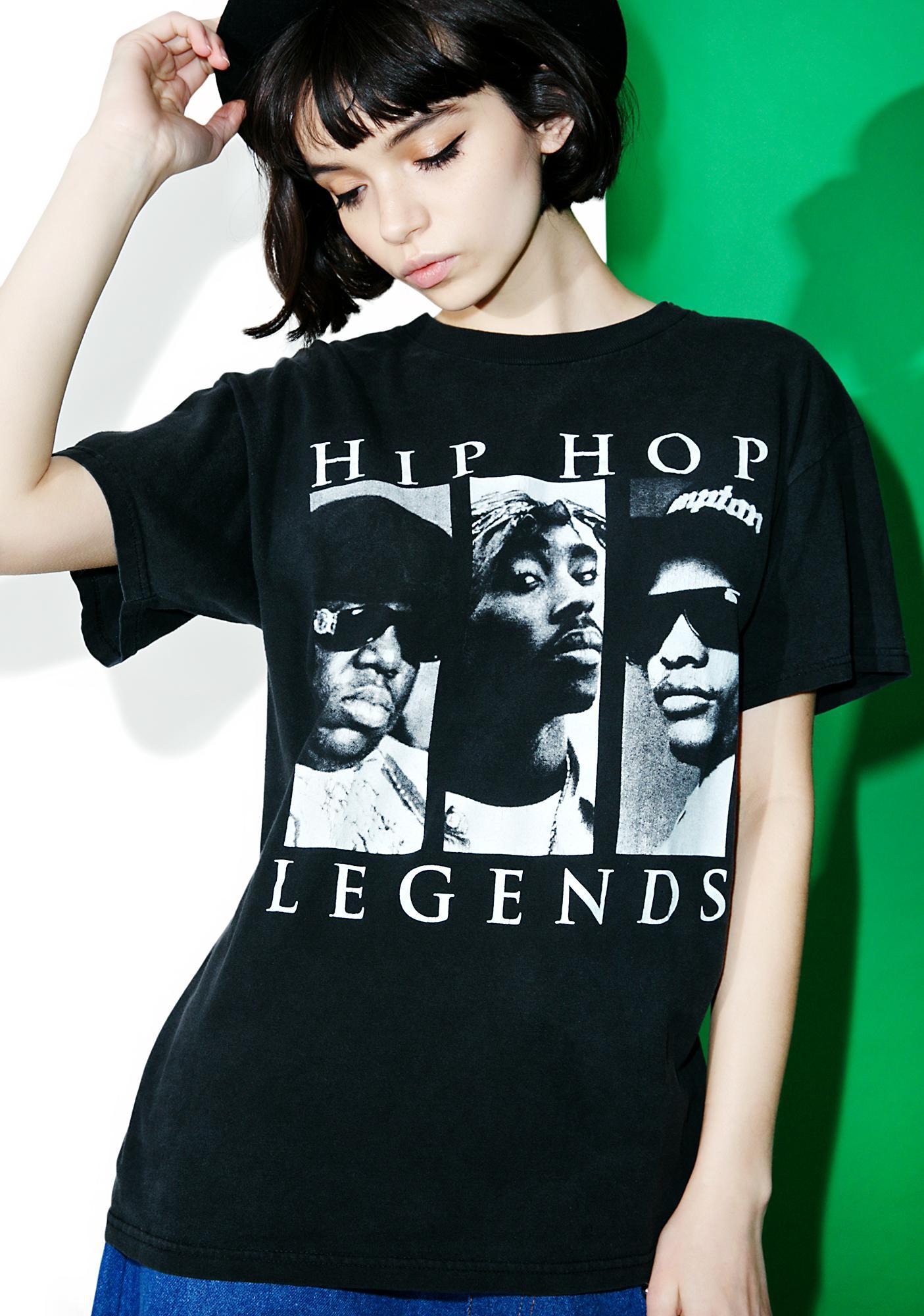 Vintage 90s Hip Hop Legends Tee