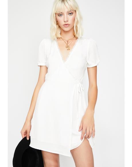 Quartz Angel Baby Wrap Dress