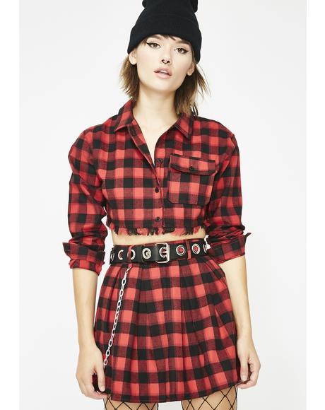 Bad Mood Flannel Set