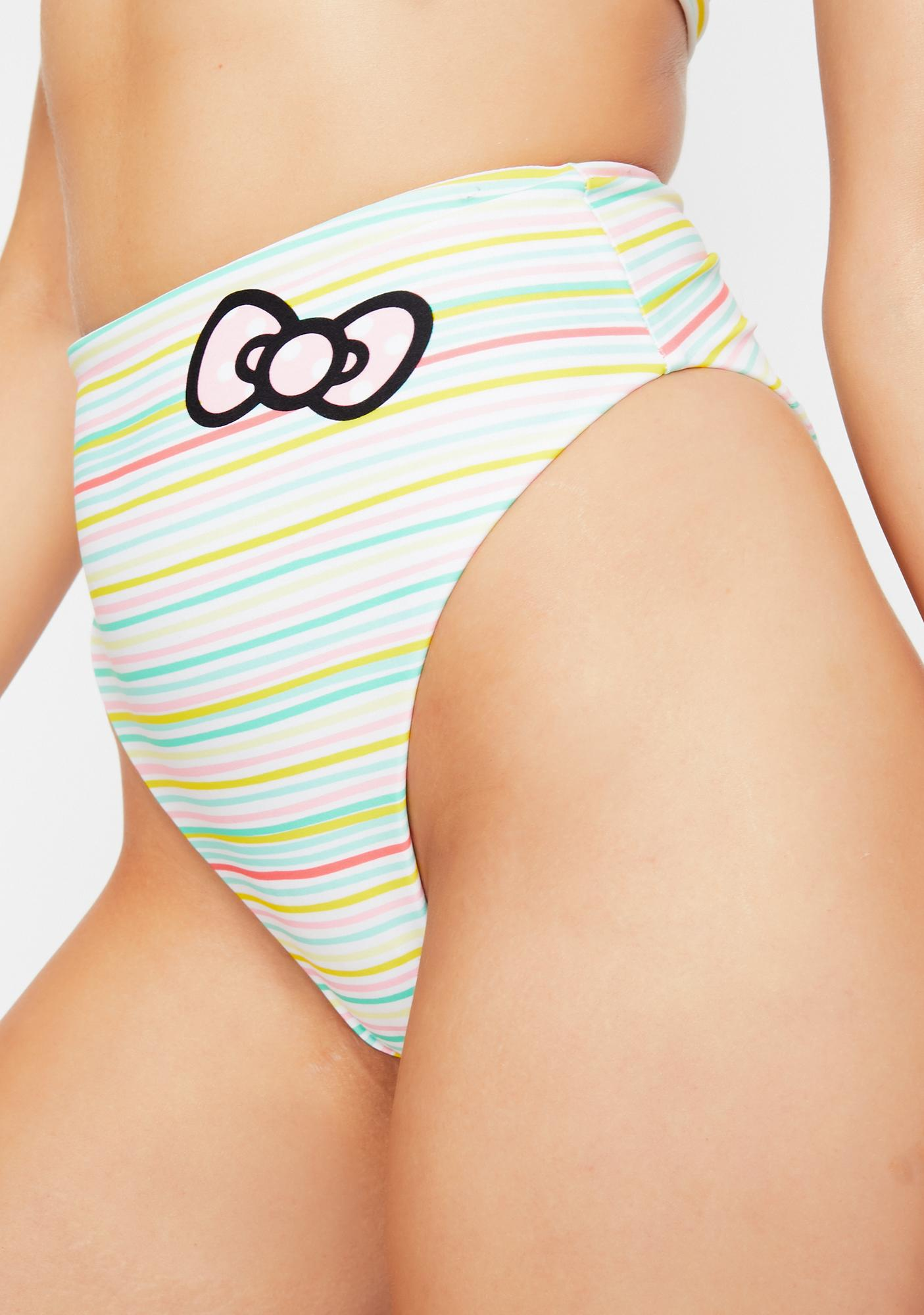 Lolli Swim x Hello Kitty Sweetie Bikini Bottoms