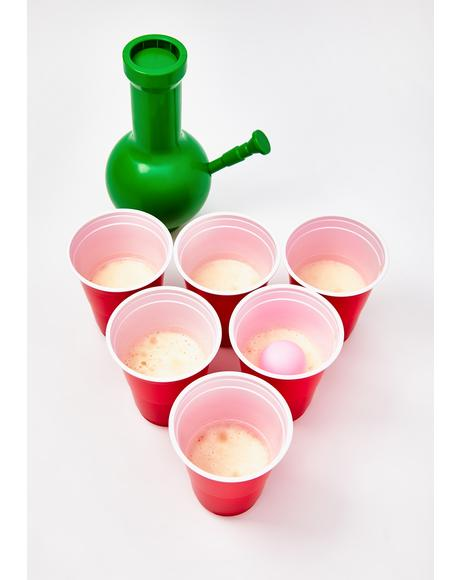 Bong Pong Game Set