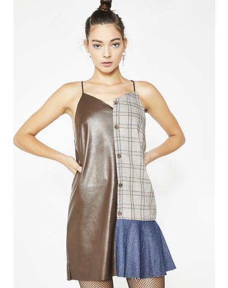 Mixed Reaction Mini Dress