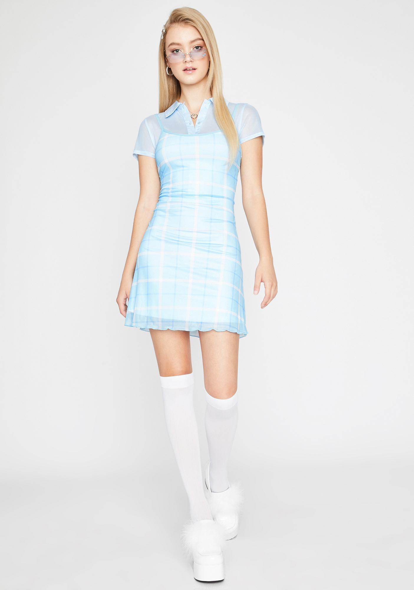 Sugar Thrillz Miss Popular Plaid Dress