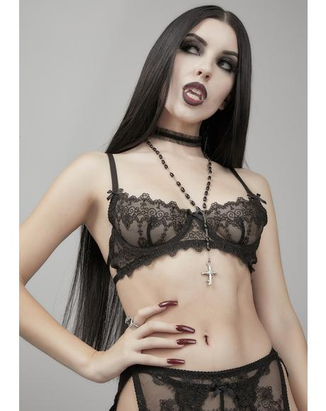 Unholy Desires Lingerie Set