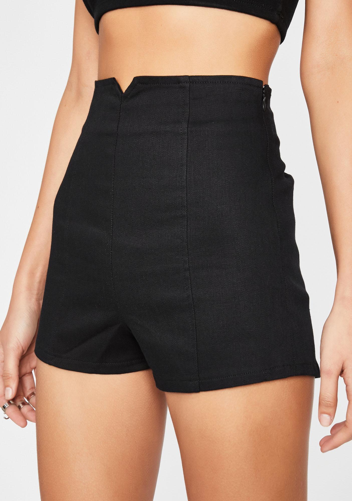 Get Busy Bish High Waist Shorts