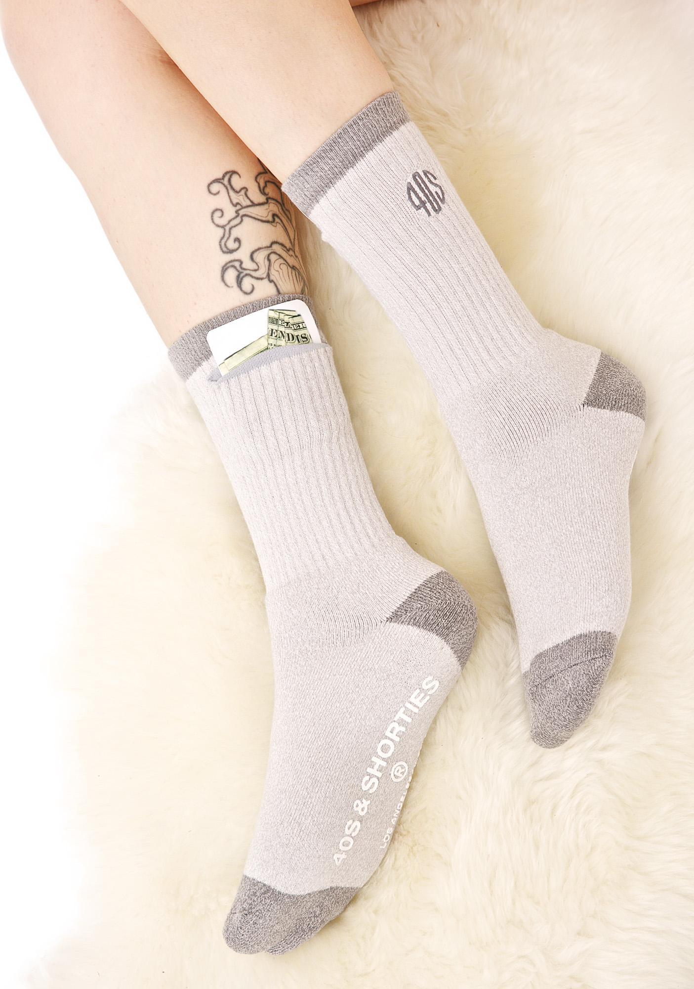 40s & Shorties Field Pocket Socks