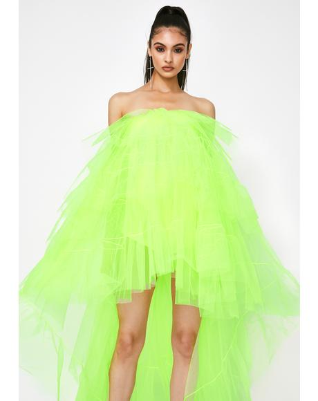 Honey Ballerina Gone Bad Tulle Dress