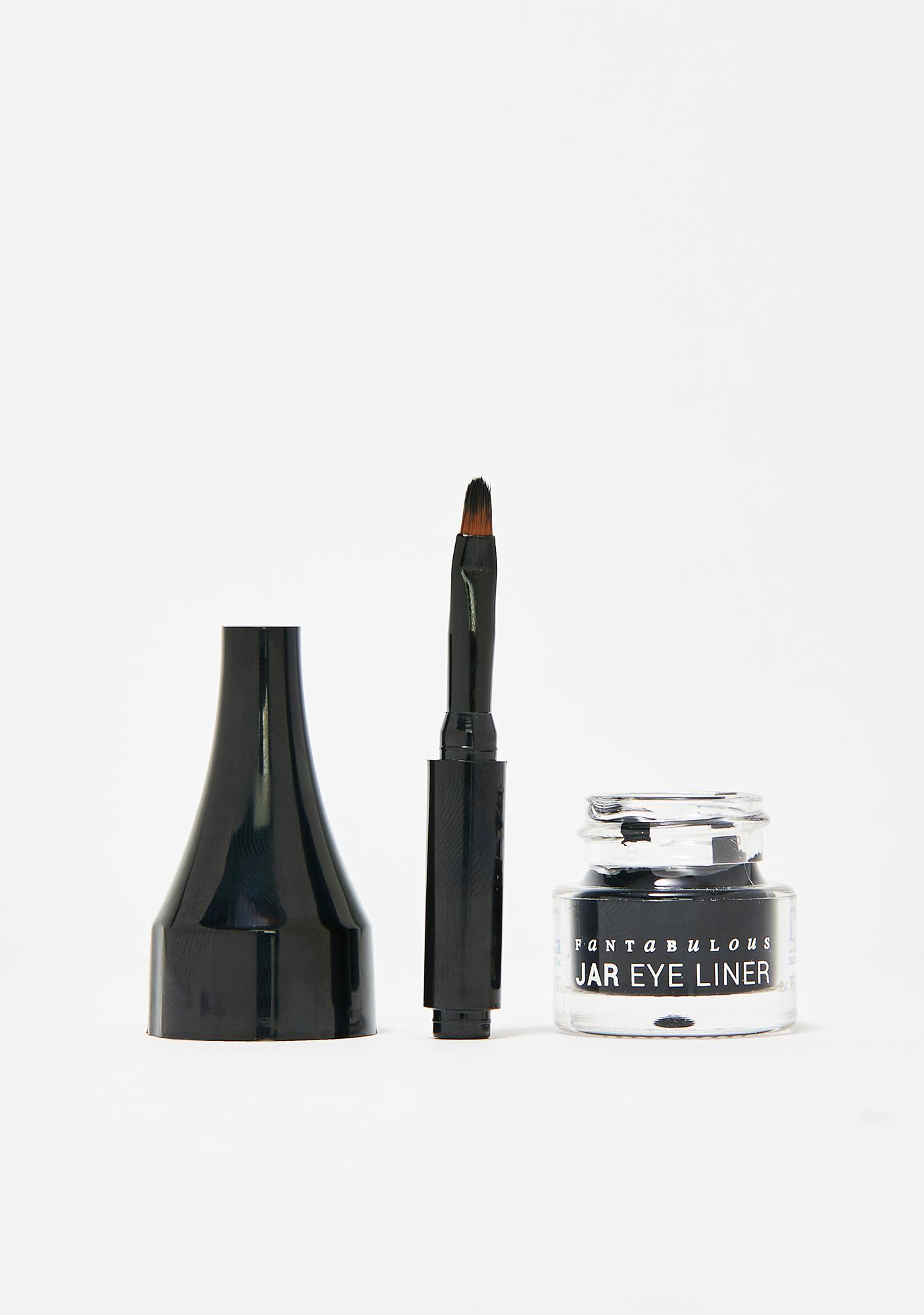 J. Cat Beauty Jet Black Fantabulous Jar Eye Liner