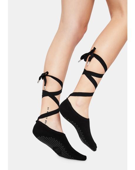 The Honey Lace Up Socks