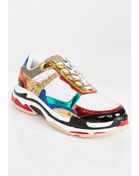 Twinkle Toes Sequin Sneakers
