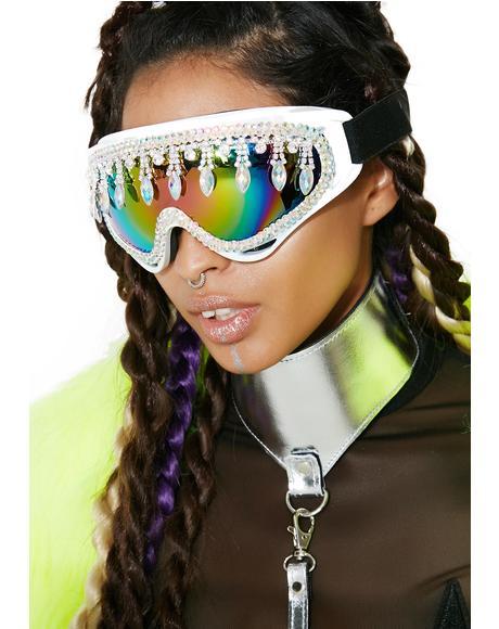 Disco Sparkle Goggles