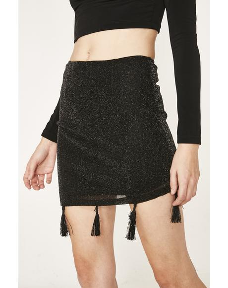 Sparkle Muse Mini Skirt