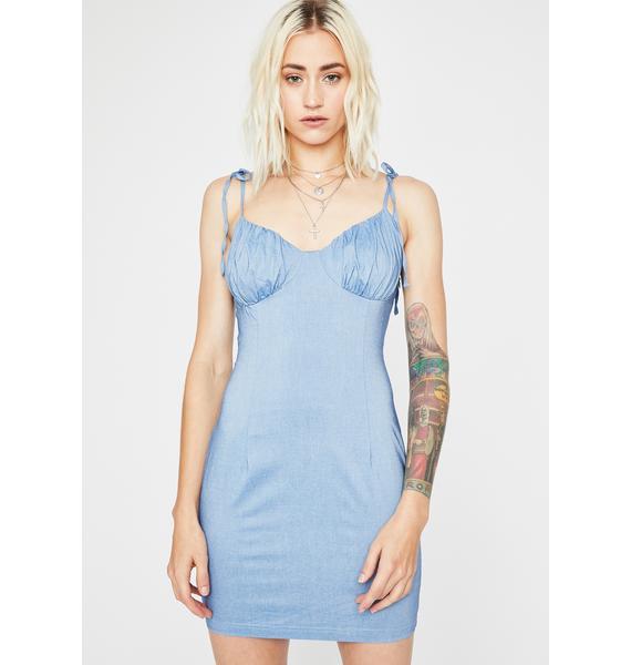 Skylight Eve Linen Dress