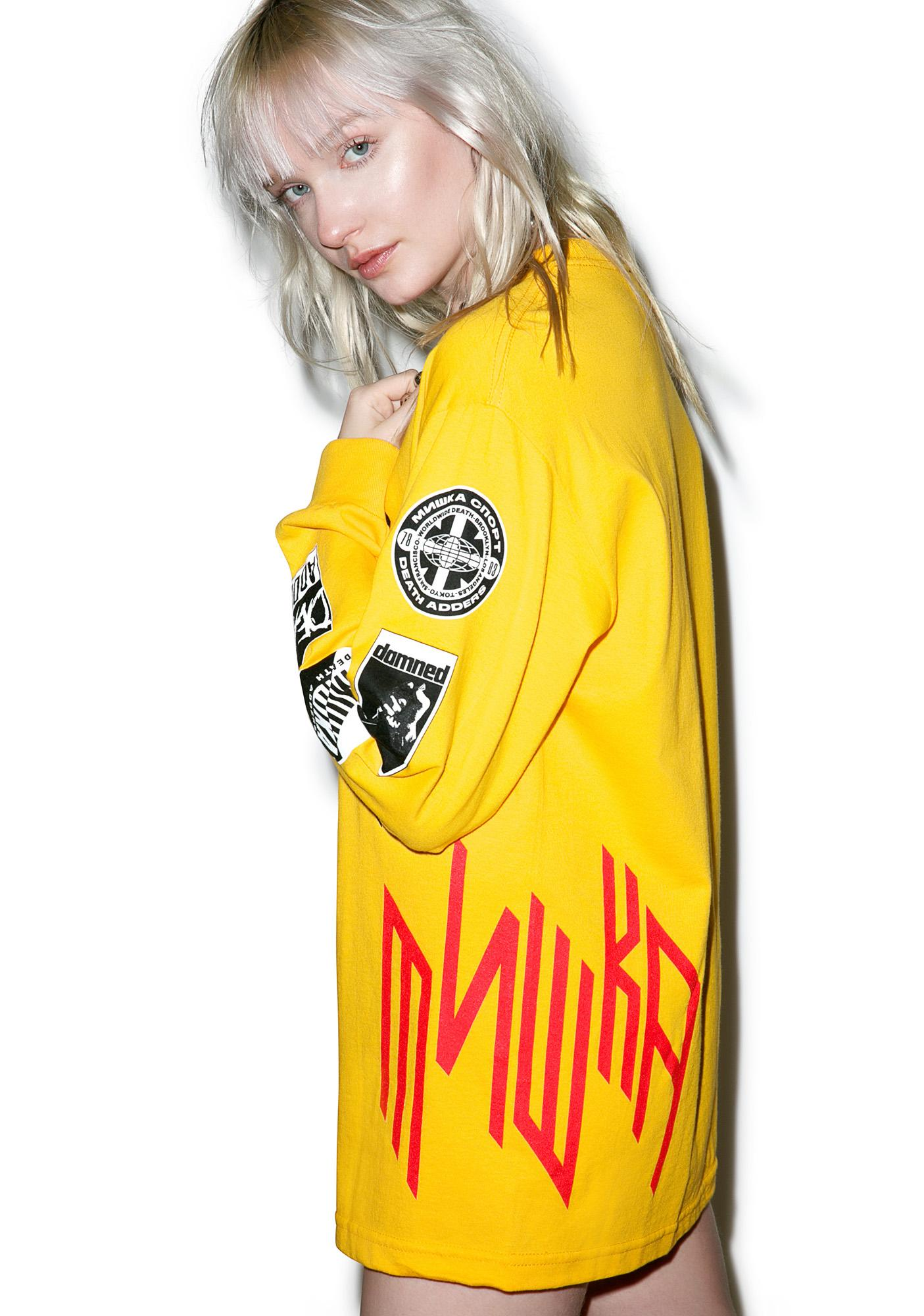 Mishka Nation Of Millions Longsleeve Tee