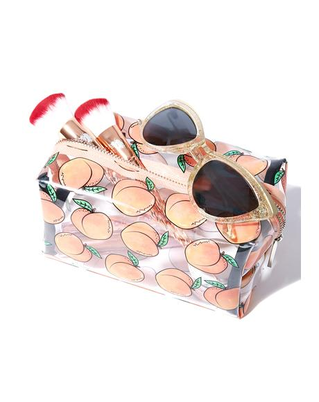 Peachy Makeup Bag