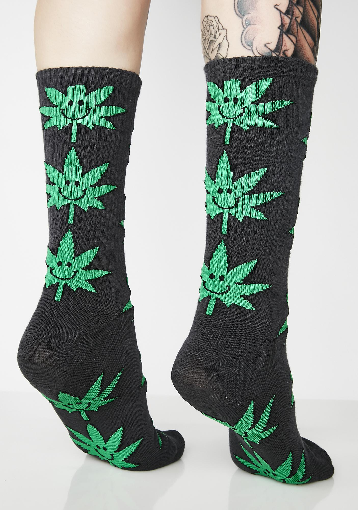 HUF Plantlife Mr. Nice Guy Socks