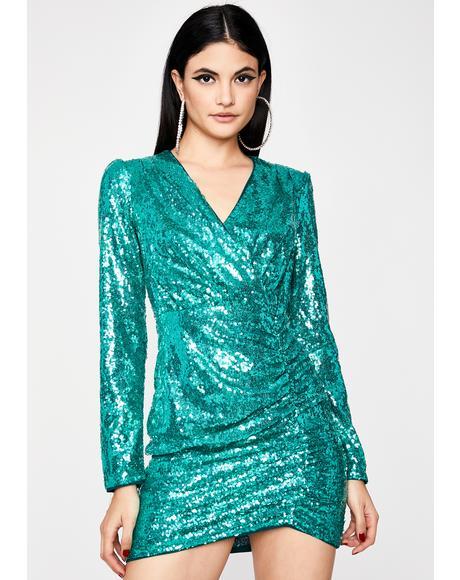VIP Vixen Sequin Dress