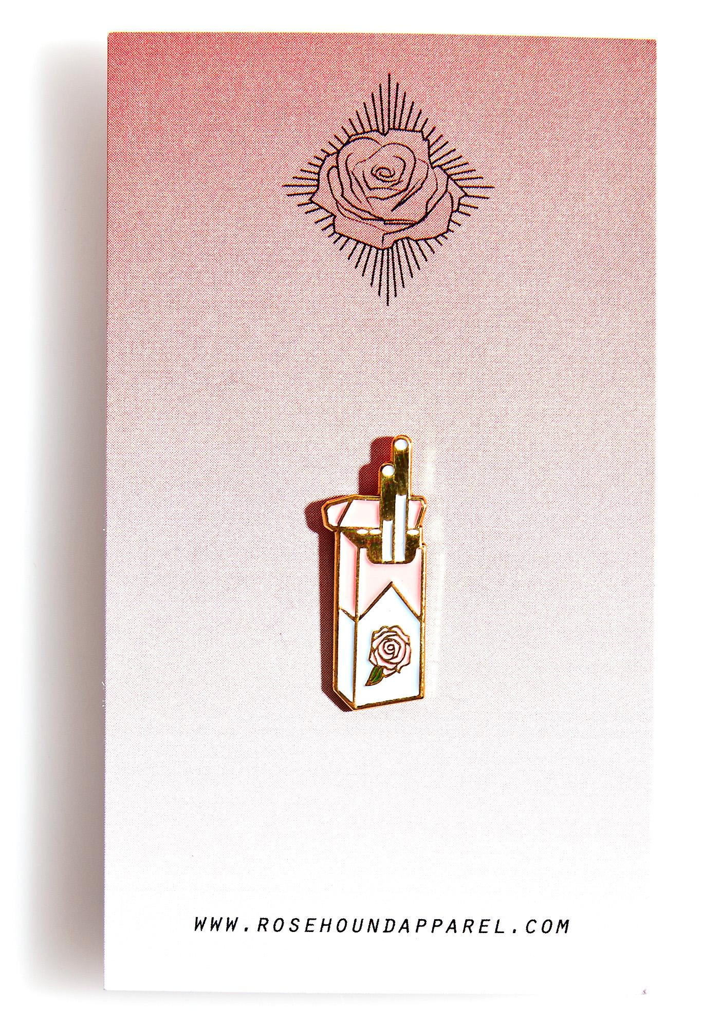 Rosehound Apparel Cigarettes Enamel Pin
