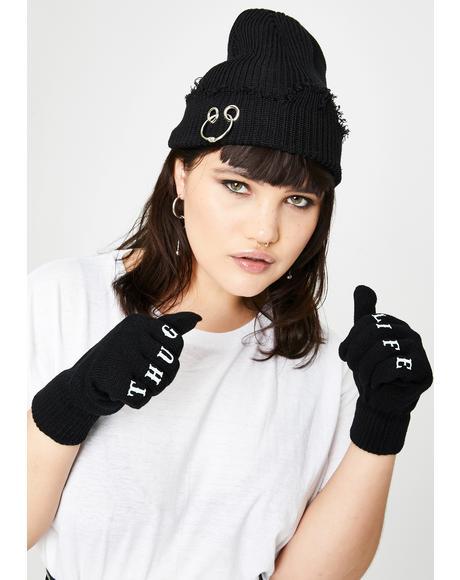 True Life Knit Gloves