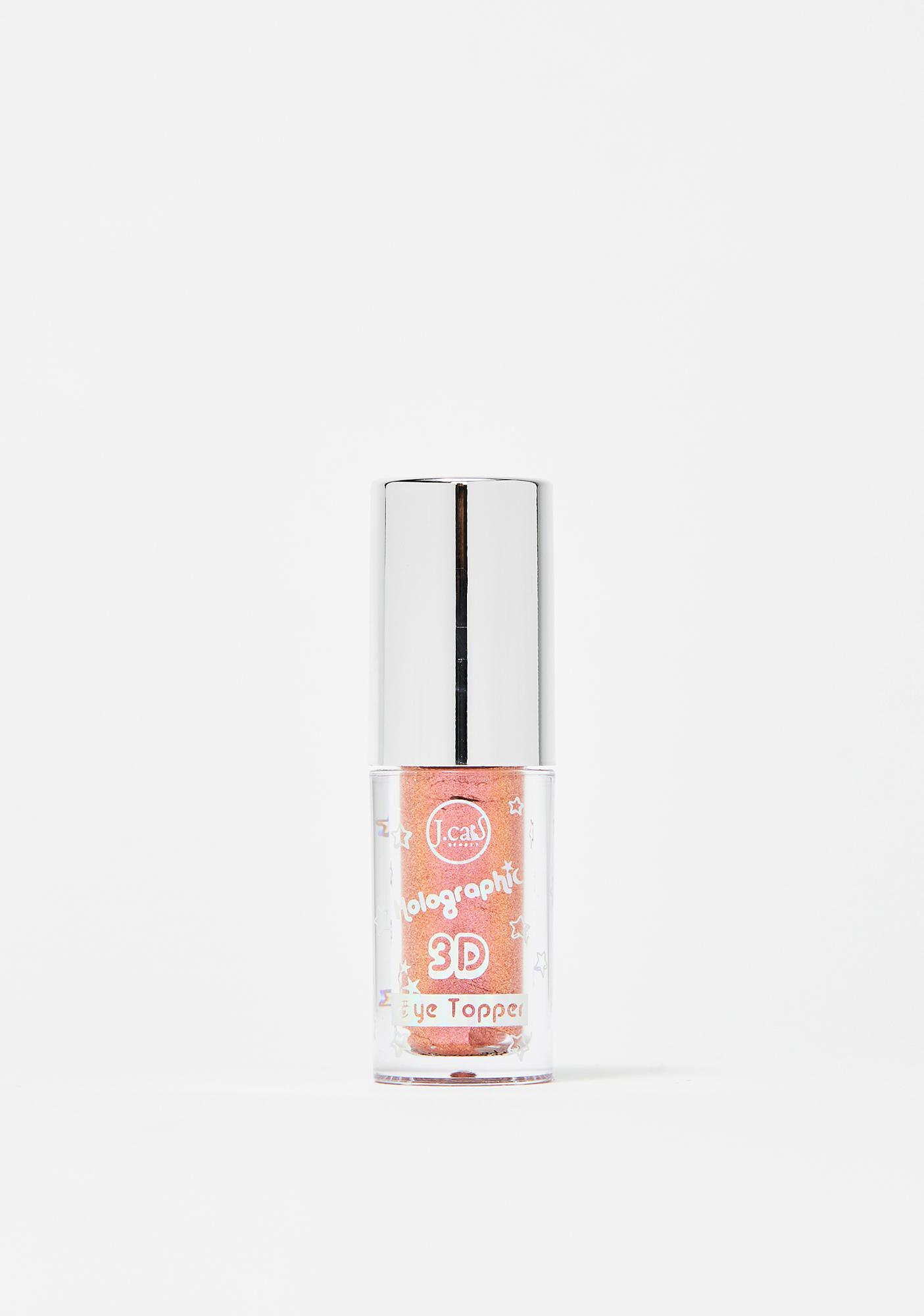 J. Cat Beauty Pinch Me Peachy Holographic 3D Eye Topper