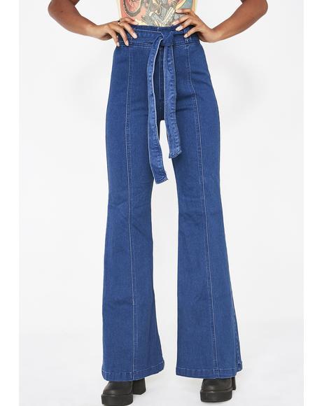 Funkadelic High Waist Jeans