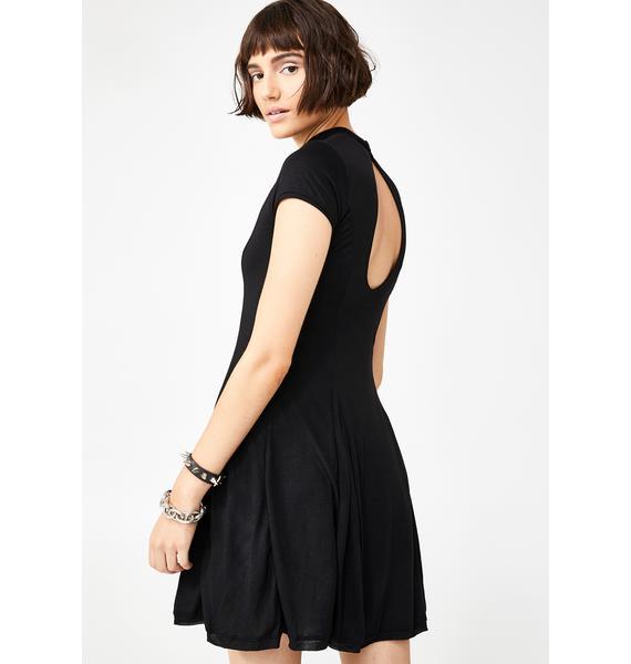 Kiki Riki Check Yourself Flare Dress